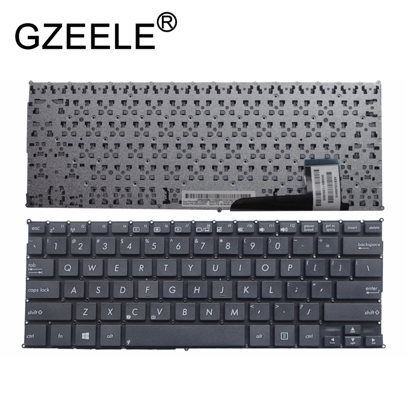 GZEELE New US Laptop Keyboard For Asus VivoBook Q200 Q200E S200 S200E X200 X201 X201E X202e MP-12K13US-920W US Layout English