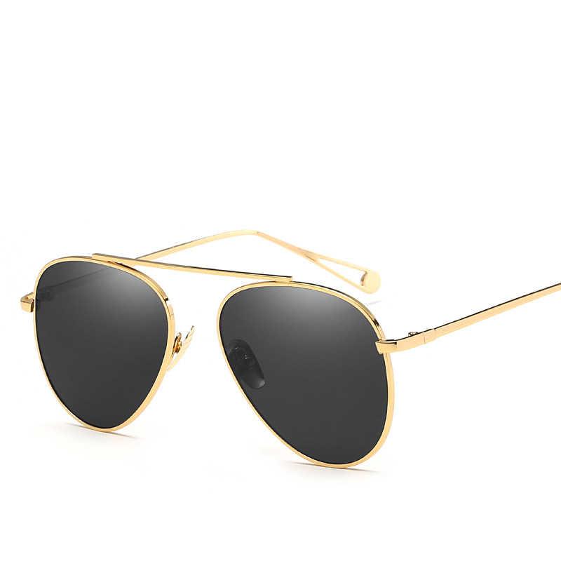 0db026669 ... 2019 Luxury Brand Pilot women's Sunglasses Fashion hue Retro Vintage  Aviation Ladies Sunglass Female Sun Glasses