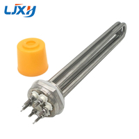 LJXH 304SS 220V 380V 3KW 4 5KW 6KW 9KW 12KW Tubular Water Heating Element Spare Parts
