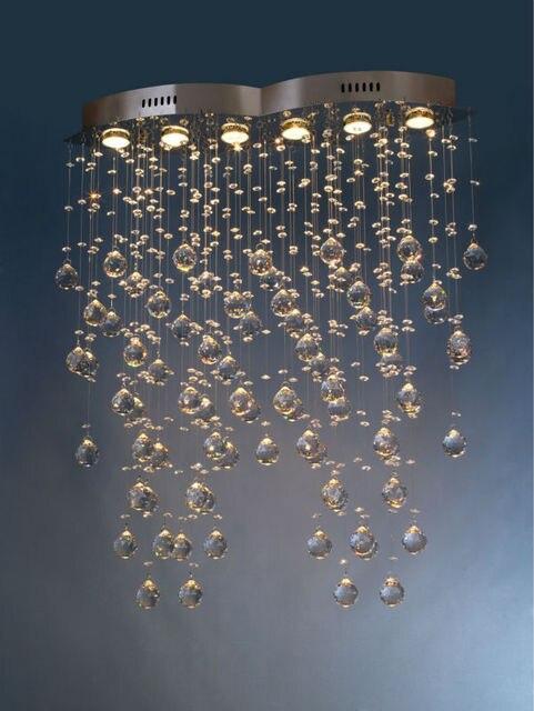 moderne kristall kronleuchter einfach lampen fr esszimmer luxurise hotelzimmer eintrag foyer beleuchtung mit gu10 led - Kronleuchter Fur Foyer