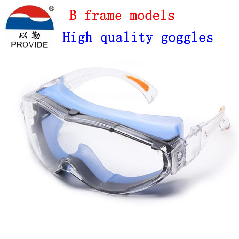 PROVIDE High quality goggles Brand protection Anti-shock protection glasses Anti-fog anti-scratch protective glasses safety provide safety glasses explosion protection anti shock protective glasses universal high quality goggles
