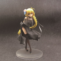 Fate Grand Order Anime Joan of Arc Ruler Black Dress Action Figure Ver.PVC Hot Collectible Model Toy 18cm XYC