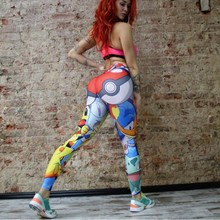 Zmvkgsoa Hot sale Pokemon Print Legging pants Ladies Leggings Fitness Workout Clothes Sportswear For Women Trousers Y2001