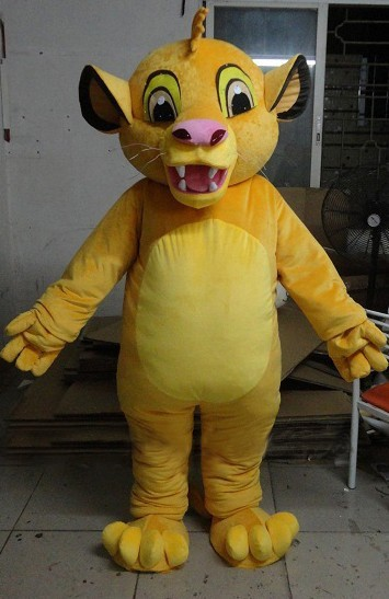 4f7adc885 Lion Simba Mascot Costume Classical Cartoon Character Mascota Outfit Suit  Fancy Dress SW800