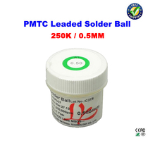PMTC 250k leaded solder balls 0.50mm for BGA rework reballing недорго, оригинальная цена