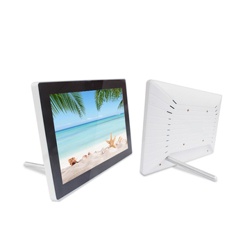 Fanless 10.1 Inch industrial panel pc wall mount touch screen all in one pc for advertising machine