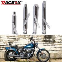 Silenciador de motocicleta vintage antiguo de moda tubo de escape Universal para M800 1200 personalizado XL883 FAT BOY motocicleta Refit