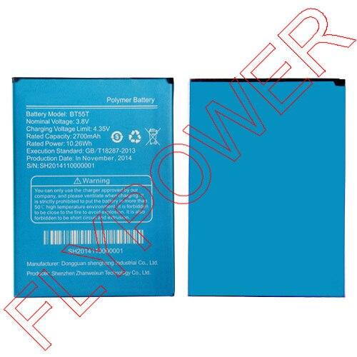 Для <font><b>ZOPO</b></font> <font><b>zp999</b></font> zp3x 2700 мАч bt55t литий-ионный Батарея пакет Бесплатная доставка; 100% гарантия