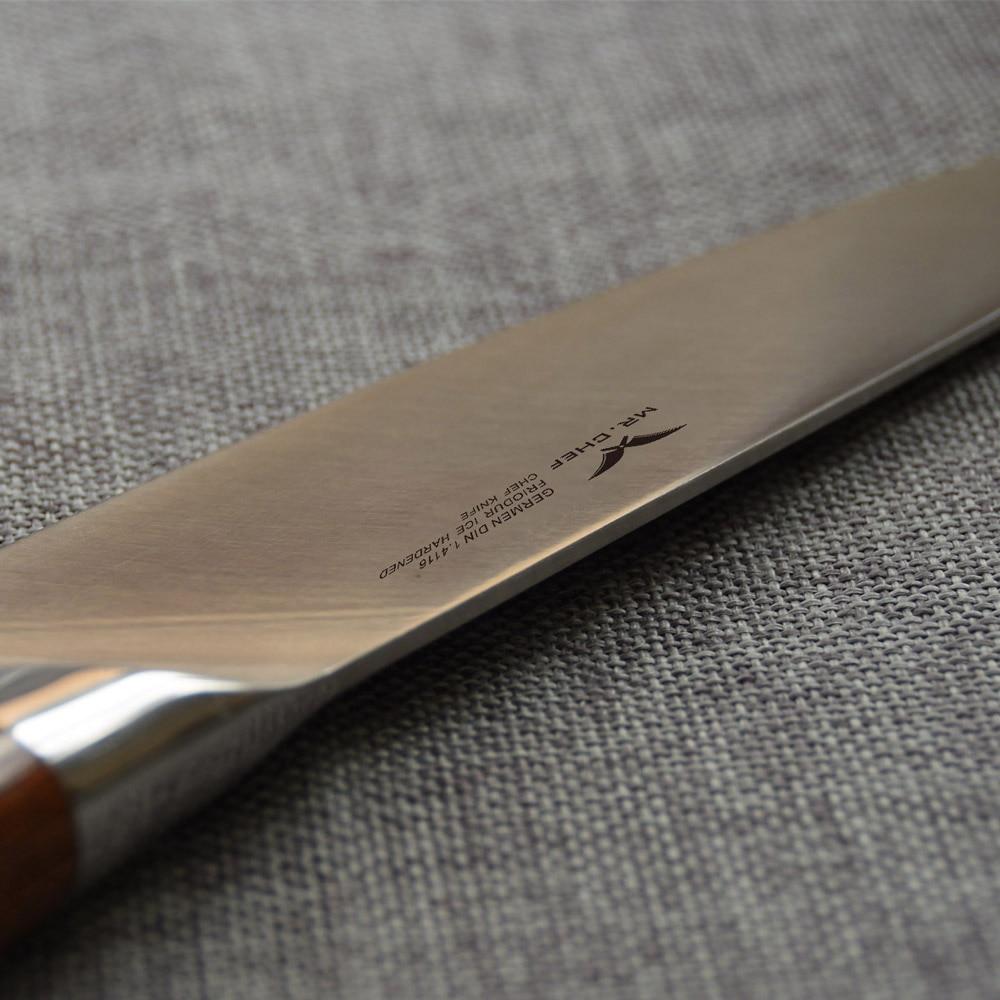 Professionel 8Inch (200mm) Kokke Kniv Japansk Stil Køkkenbestik - Køkken, spisestue og bar - Foto 4
