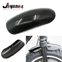 Black Motorcycle Short Front Fender Fits For Harley Davidson Forty Eight 48 XL1200X 2010 2017