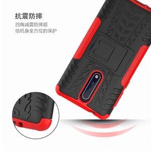Image 3 - Caso para nokia 7.1 6.1 5.1 3.1 plus x7 x6 x5 à prova de choque silicone armadura caso do telefone para nokia 8 6 5 3 2 1 tpu capa completa volta caso