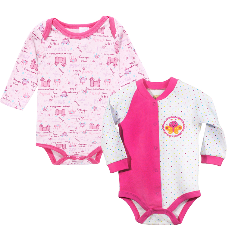 2017 New Fashion infant clothes baby Girl clothes sets 100% cotton Long sleeve rompers pajamas 2pcs Newborn baby clothing set newborn baby rompers baby clothing 100% cotton infant jumpsuit ropa bebe long sleeve girl boys rompers costumes baby romper