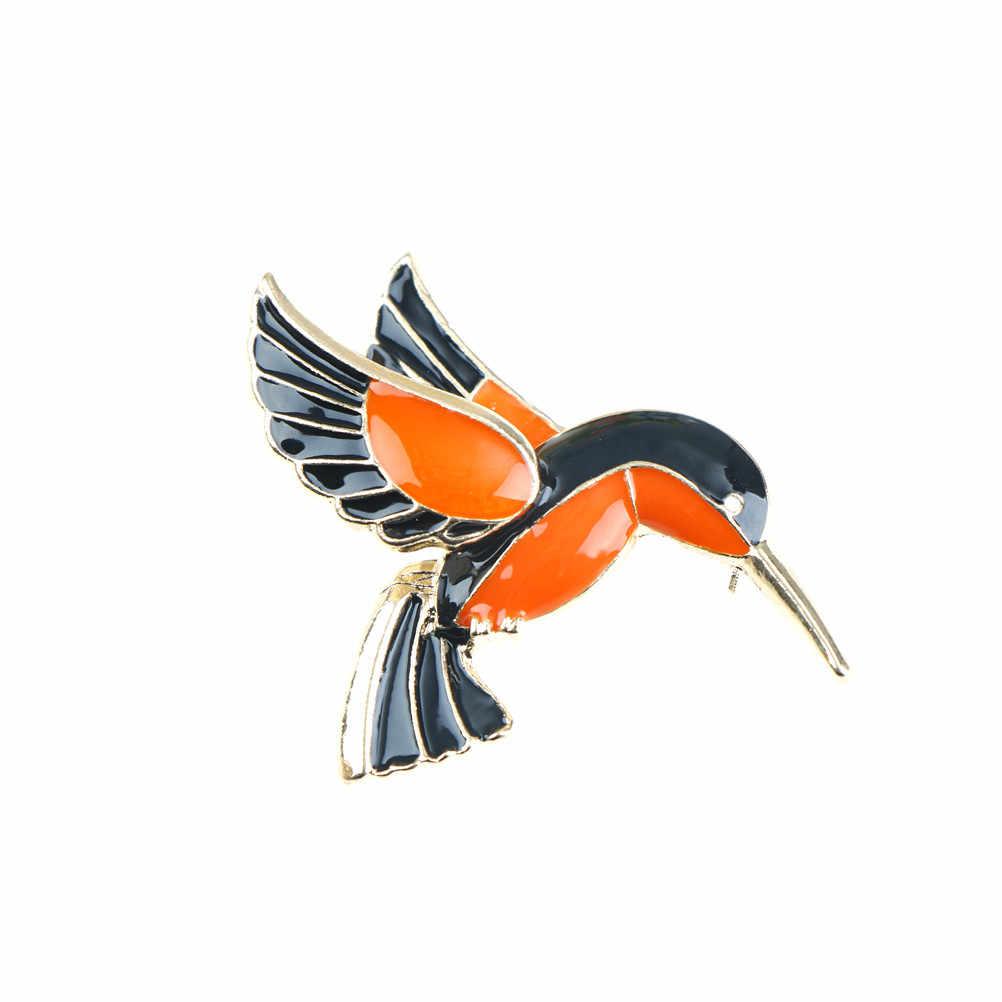 Di Cristallo del metallo Christams Rondine Distintivo Dello Smalto Spille Uccelli Spilla Regalo Di Natale Banchetto Matrimoni Accessori Maglione Spille
