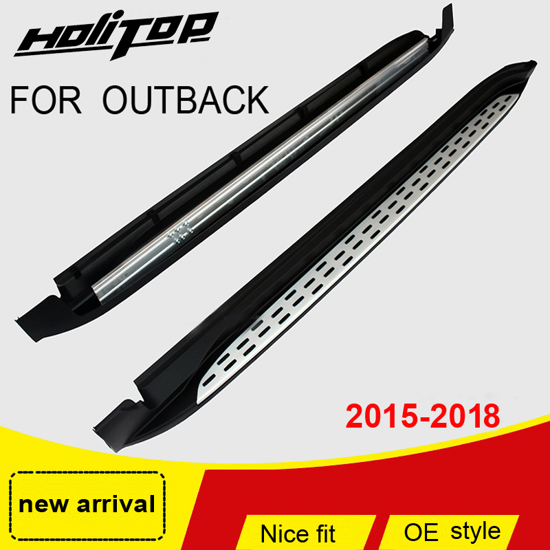 New arrival for Subaru Outback running board side step nerf bar pedal 2015-2018,Hitop-5years SUV experiences,best recomendedNew arrival for Subaru Outback running board side step nerf bar pedal 2015-2018,Hitop-5years SUV experiences,best recomended