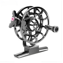 Fishing reel full metal with defensive front wheel  rock rod ice fishing line wheel winter fishing fly fishing reel outdoor