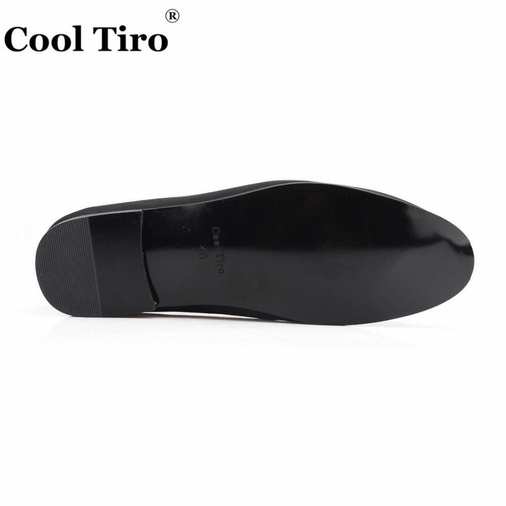 Robe Fumer Gland De Mocassins Cool Hommes Chaussures Banquet Pantoufle Couture Noir on Noce Slip Toile blanc Tiro Noir qFxXPXAw