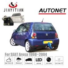 Câmera de visão traseira para SEAT Arosa JIAYITIAN para Volkswagen Lupo 1998 ~ 2004 CCD câmera Da Placa de Licença de backup câmera Reversa câmera