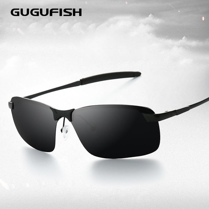 Очки для рыбалки GUGUFISH, поляризационные уличные защитные спортивные очки с защитой UV400, очки для велоспорта, пеших прогулок, рыбалки