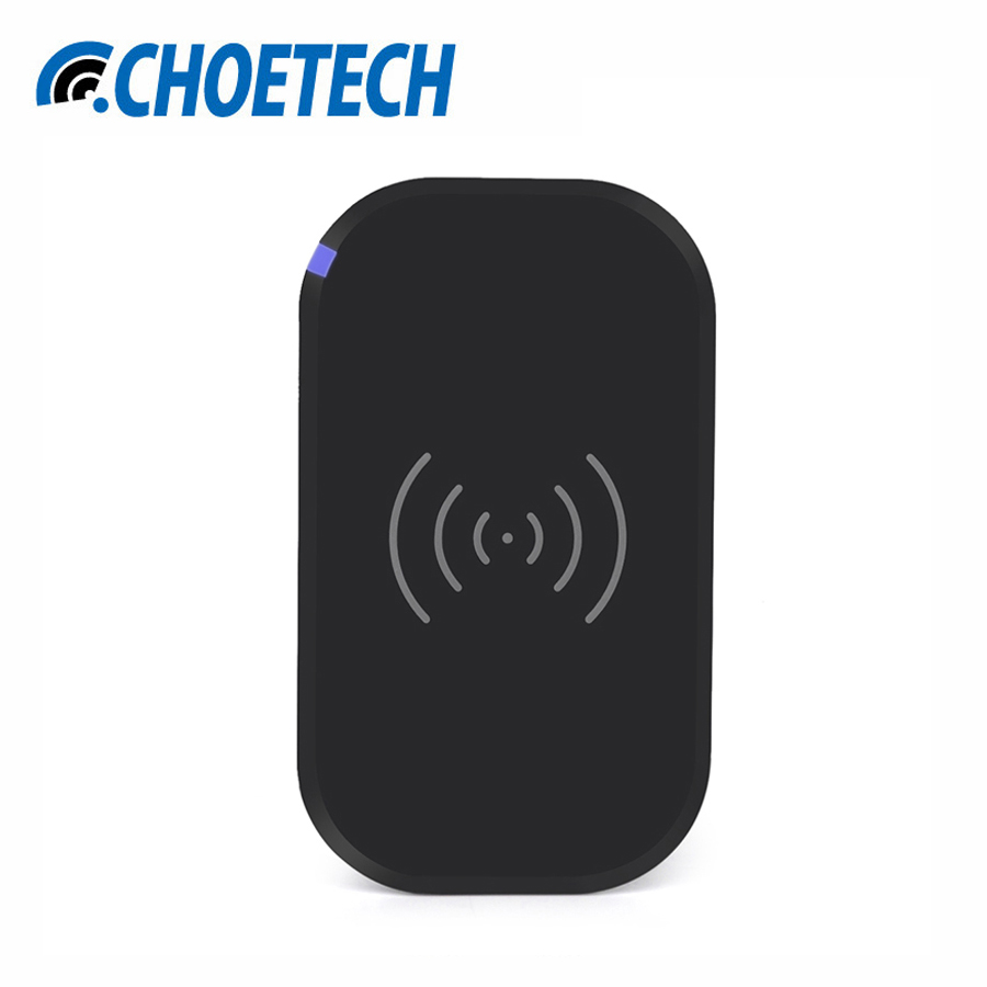 CHOETECH Qi Wireless Charging Pad 3 Coils Qi Wireless Charger for Samsung Galaxy S7/S7 Edge/S6/S6 Edge and All Qi-Enabled Device