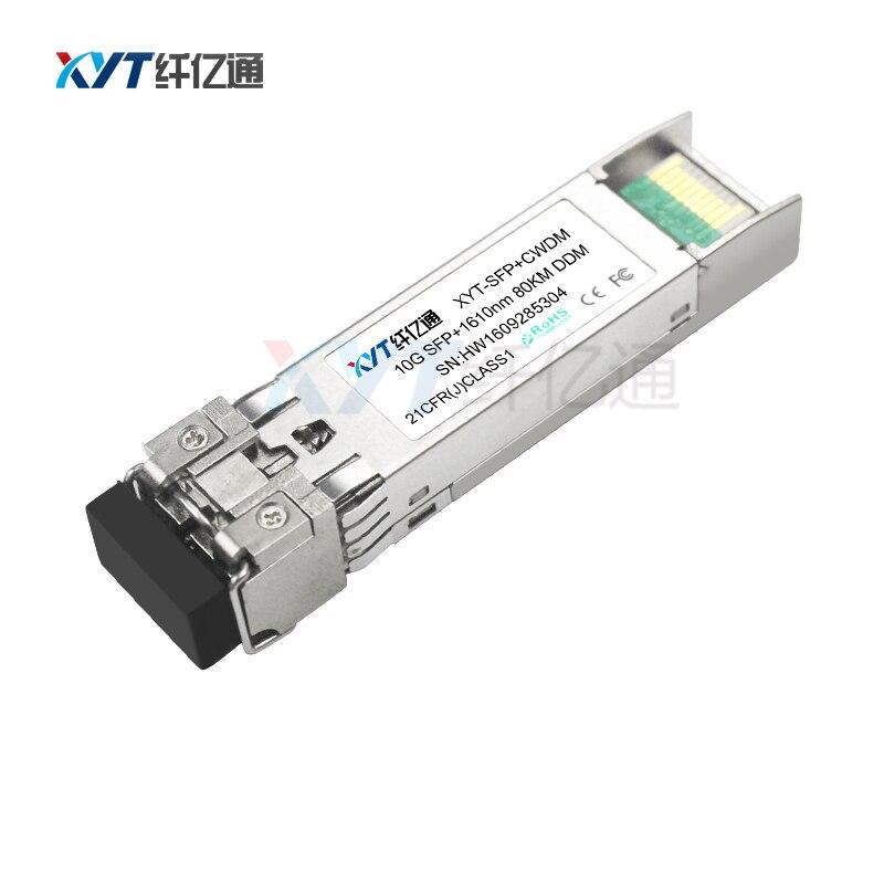 C21-C60 ITU hullámhossz 80km 10G DWDM SFP + ZR száloptikai - Kommunikációs berendezések - Fénykép 2