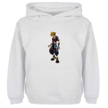 Unisex Sweatshirts For Boy Men Long sleeves Kingdom Hearts Sora Keybladel Design Spring Autumn Winter Casual Hoodies