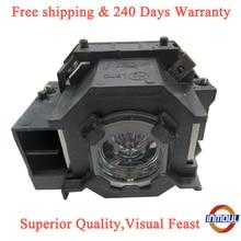 A + 品質と95% 輝度プロジェクターランプELPLP41エプソンEMP S5 EMP S52 EMP T5 EMP X5 EMP X52 EMP S6 EMP X6 EMP 260