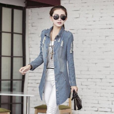 2015 Hitz тонкий длинными рукавами джинсовая куртка женщины женский женщины одеваются дешевую одежду китай мода сексуальная одежда