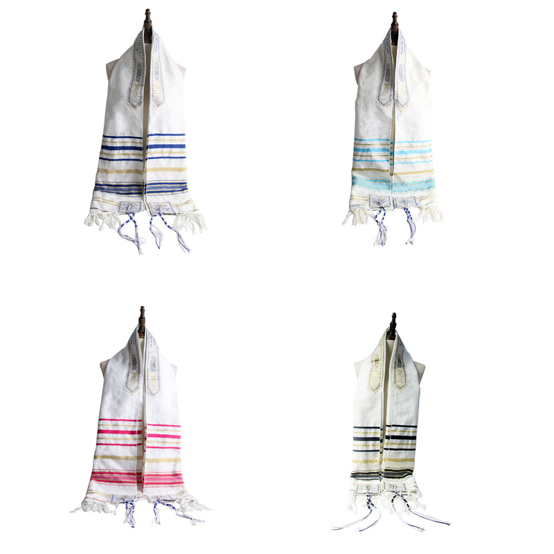 FUNKLOUZ Messianic Jewish Tallit Talit Prayer Shawl Scarf and Talis Bag