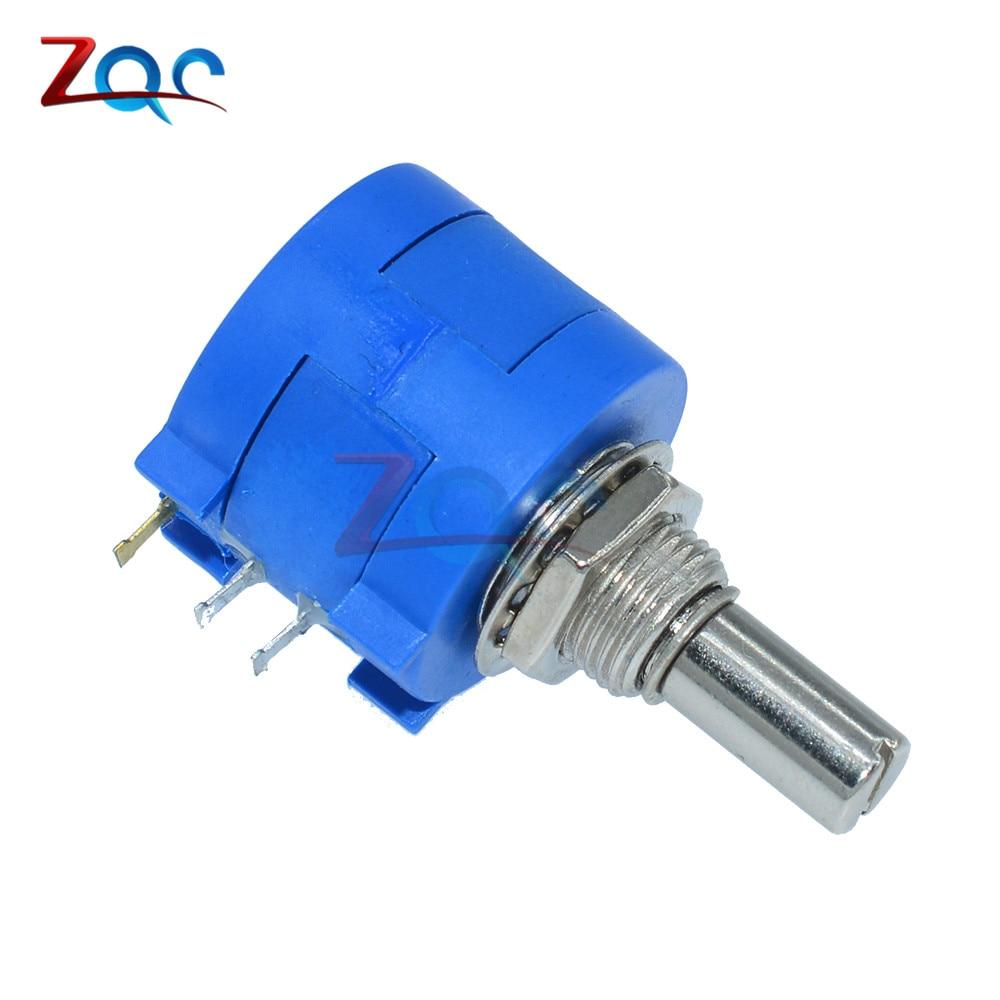 3590S-2-102L 3590S 1K ohm Precision Multiturn Potentiometer 10 Ring Adjustable Resistor canada 24 type potentiometer 2 5k