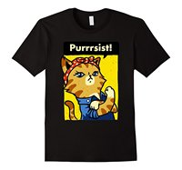 We Can Do It Poster She Purrsisted Cat Lover Funny T Shirt Design Your Own T