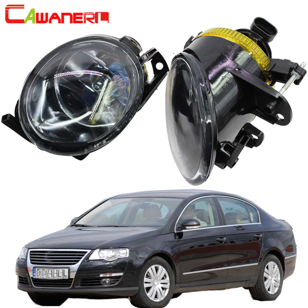 Cawanerl 100 W Mobil Lampu Kabut 9006 HB4 Halogen Bulb DRL 12 V untuk Volkswagen Magotan Passat B6 3C Sedan wagon Varian 2006-2011