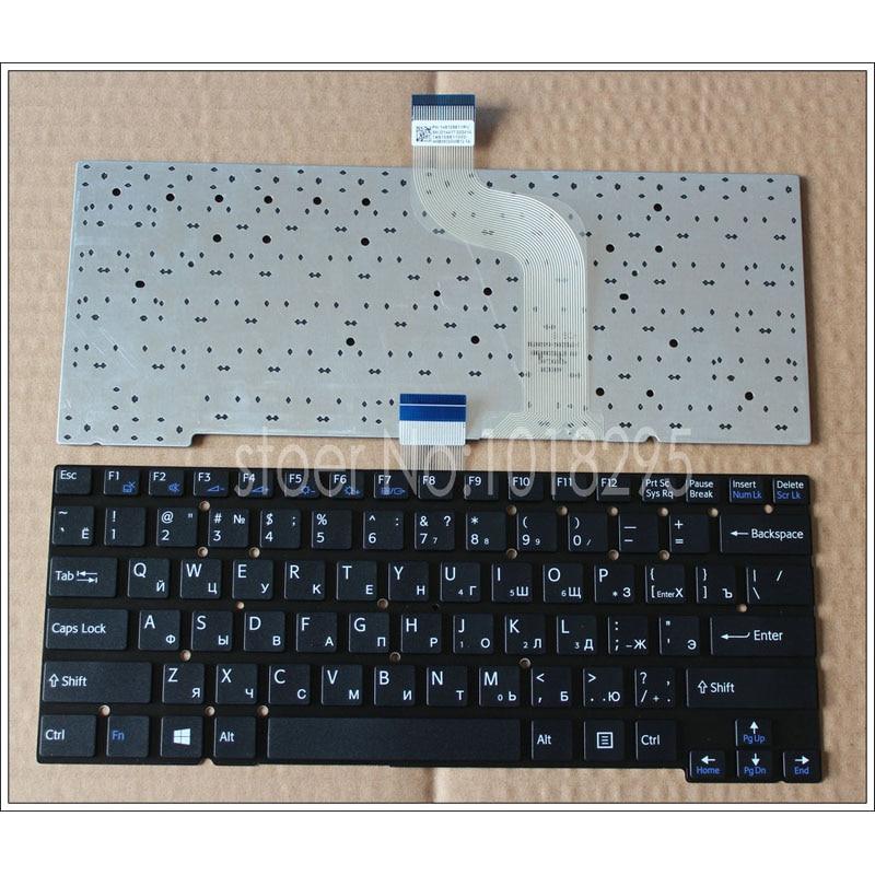 Geninue New RU Russian Keyboard For Sony Vaio SVT13 SVT 1311 SVT13115 WITHOUT Frame black laptop Keyboard 149109811 RU laptop keyboard for acer silver without frame bulgaria bu v 121646ck2 bg aezqs100110