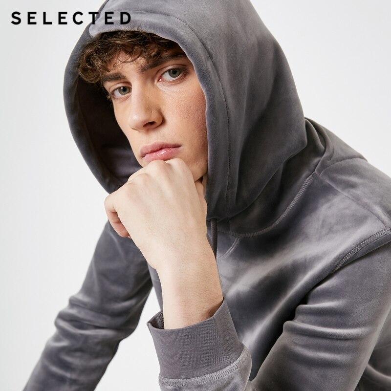اختيار الرجال المخملية الرباط الأعمال عارضة هوديي S  41844D503-في قمصان وسترات بقلنسوة من ملابس الرجال على  مجموعة 1