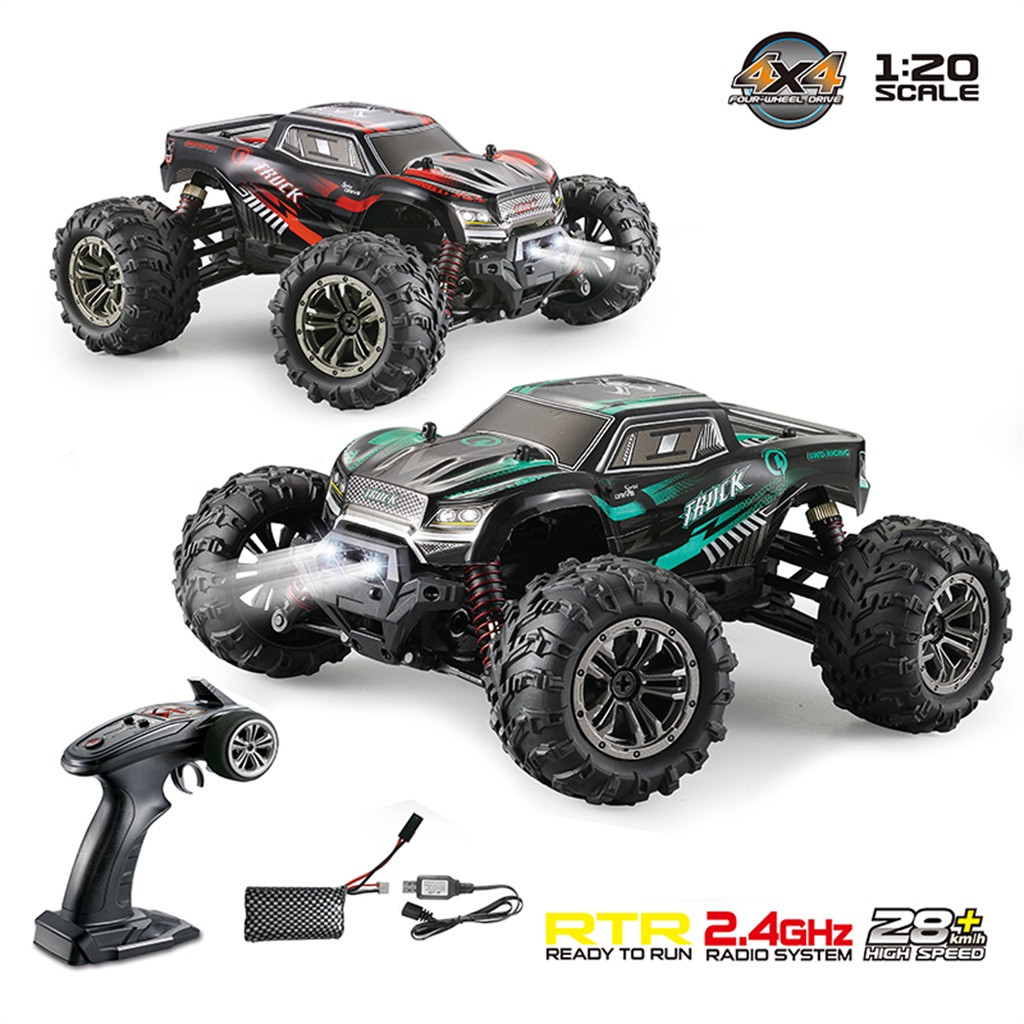 Radio controlled Cars 9145 28KM/H RC Car 1:20 Scale 4WD 2.4Ghz Off Road Remote Control Truck RTR Wall Climbing Car Gift For Kids