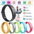 New W5 silicone wristbands Bracelet Sport Watch Pedometer Calory monitor 3D Pedometer Silent Vibration All Compatible For Adult