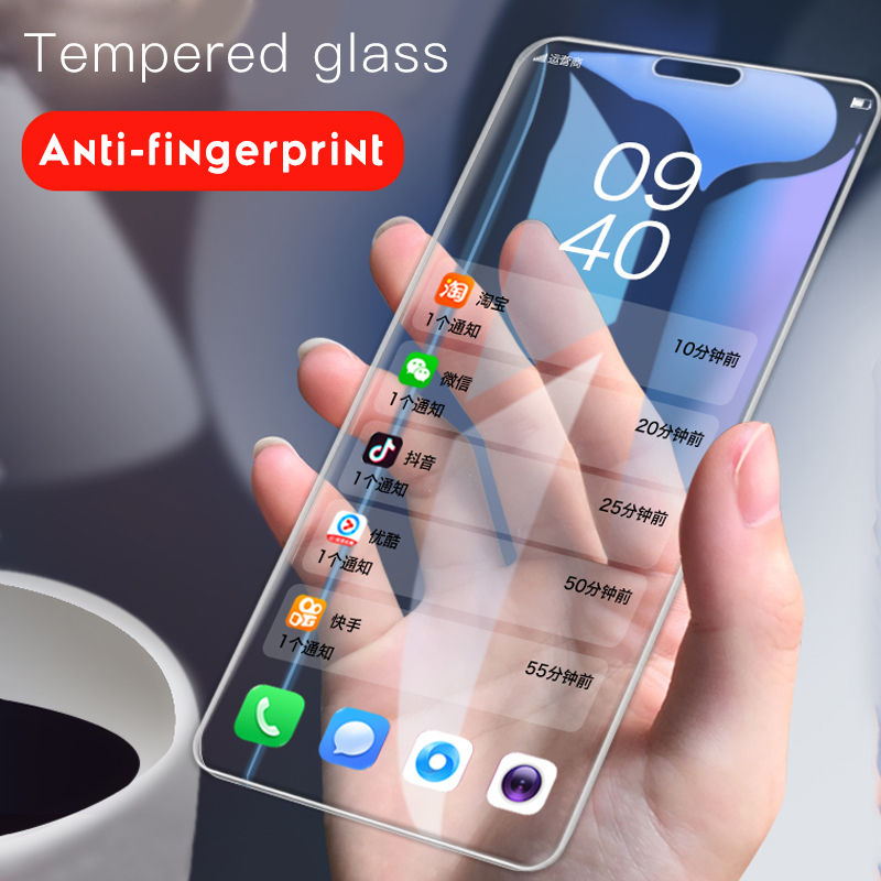 Transparent Tempered Glass For OnePlus 7 6 6T 5 5T 3 3T Full Cover Screen Protector For One Plus 1+ 7 6 6T 5 5T 3 3T 1+7 1+6