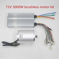 72V 3000W Brushless Motor BLDC motor with Controller For Electric Scooter E bike E Car Engine Motorcycle Part