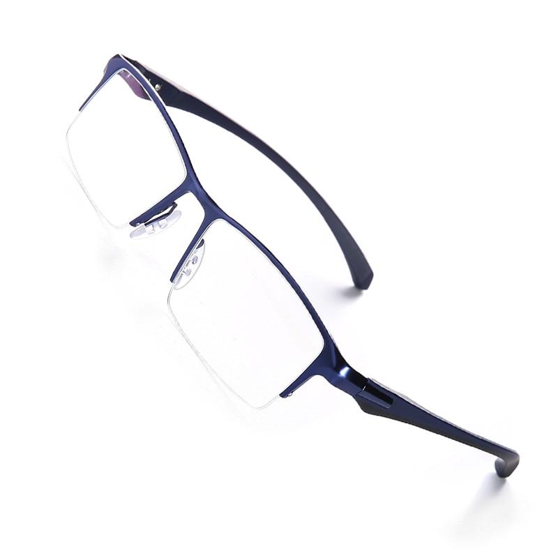 Image 2 - Оправа для очков из чистого титана, полная оправа для очков, мужские Оптические очки, оправа для очков, Дизайнерские Большие простые очки-in Мужские очки кадры from Аксессуары для одежды on AliExpress - 11.11_Double 11_Singles' Day
