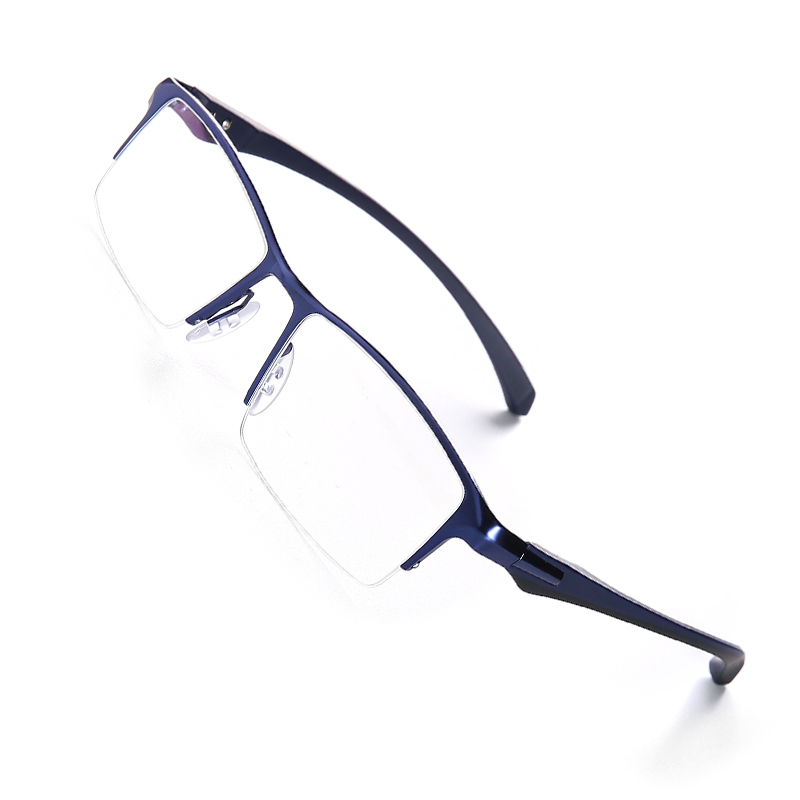 Image 2 - Pure titanium glasses frame full eyeglasses frame men optical glasses eyeware spectacle frames designs large plain-in Men's Eyewear Frames from Apparel Accessories
