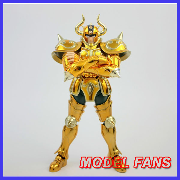 MODEL FANS IN-STOCK  METAL CLUB  Metalclub MC S-Temple ST Aldebaran Taurus Saint Seiya Cloth Myth EX Gold Saint OCE Metal Armor