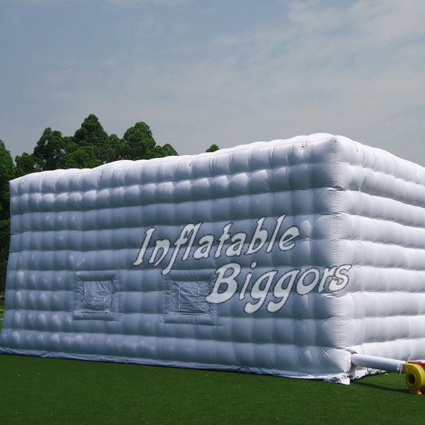 Жилой партия ясно Надувные Палатки большой открытый надувные структуры куб для продажи