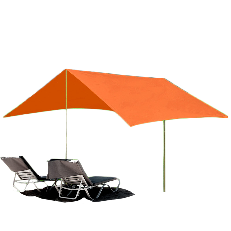 300*400 Large Capacity Outdoor Camping Awning Tent Waterproof Sunscreen Sun Shelter Iron Pole Outdoor Beach Tent for Recreation 300*400 Large Capacity Outdoor Camping Awning Tent Waterproof Sunscreen Sun Shelter Iron Pole Outdoor Beach Tent for Recreation