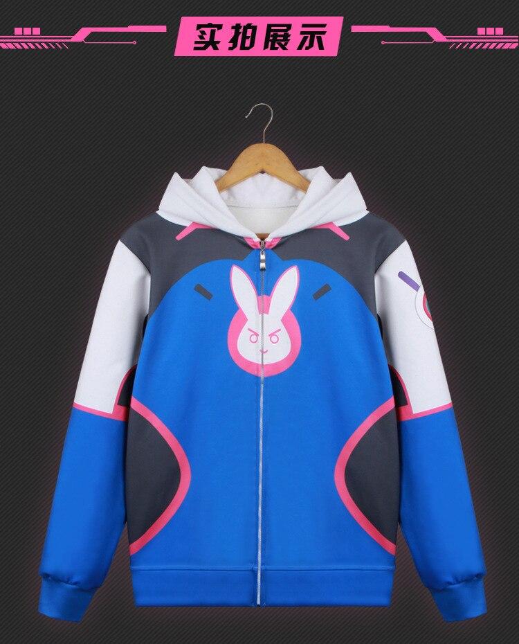 New OW Game Overwatch JUNKRAT Black Baseball Coat Cosplay Costume Jacket