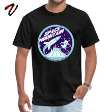 Normal T Shirt Oversized Crewneck SPACE MOUNTAIN (blues) World Of Tanks Mens Tops Tees Europe Short Ramen T-Shirt