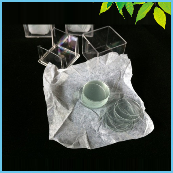 Diameter 24mm Circular Cover Slides Glass Plate Coverslips WHB Round Coverslip 100 PCS/Box image