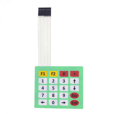 Universal 20 Key 4 x 5 Matrix Membrane Switch Keyboard Keypad 85 x 73 x 0.8mm