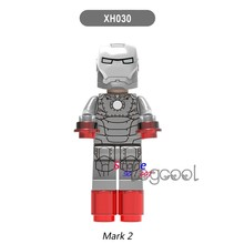 1PCS model building blocks action figures starwars superheroes Mark 2 bricks for kits kid girls boys diy toys for children gifts(China)