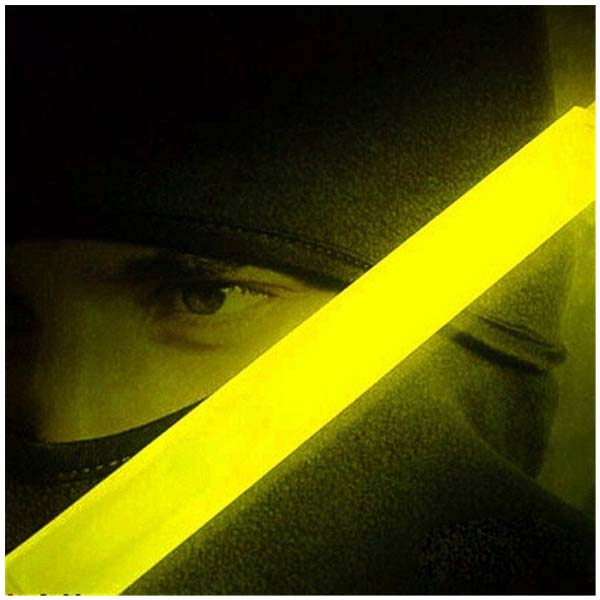 Glow Sticks Party Camping Emergency Surival Lights GlowStick Yellow