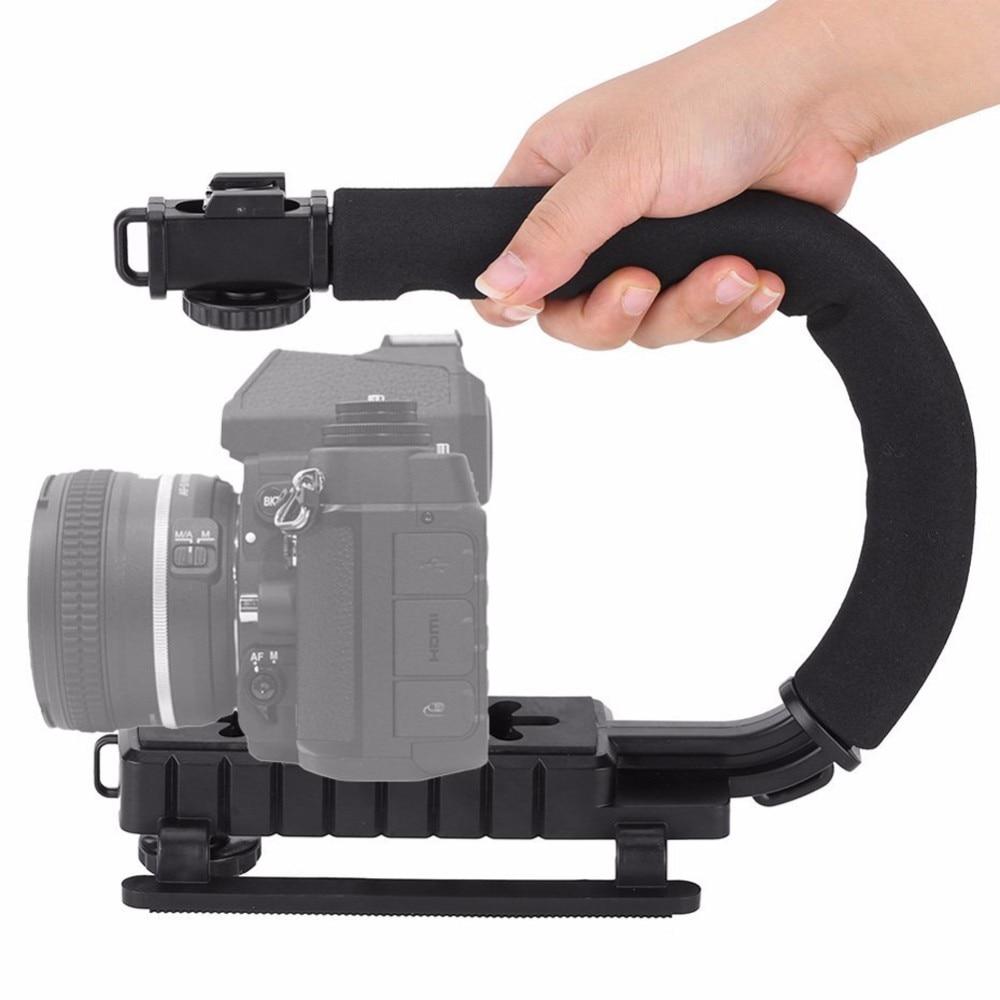 Loyal Kaliou U/c C Shape Bracket Handheld Video Camera Stabilizer Steadicam Shoe Mounts For Gopro Xiaomi Yi Sjcam Dslr Slr Canon Nikon