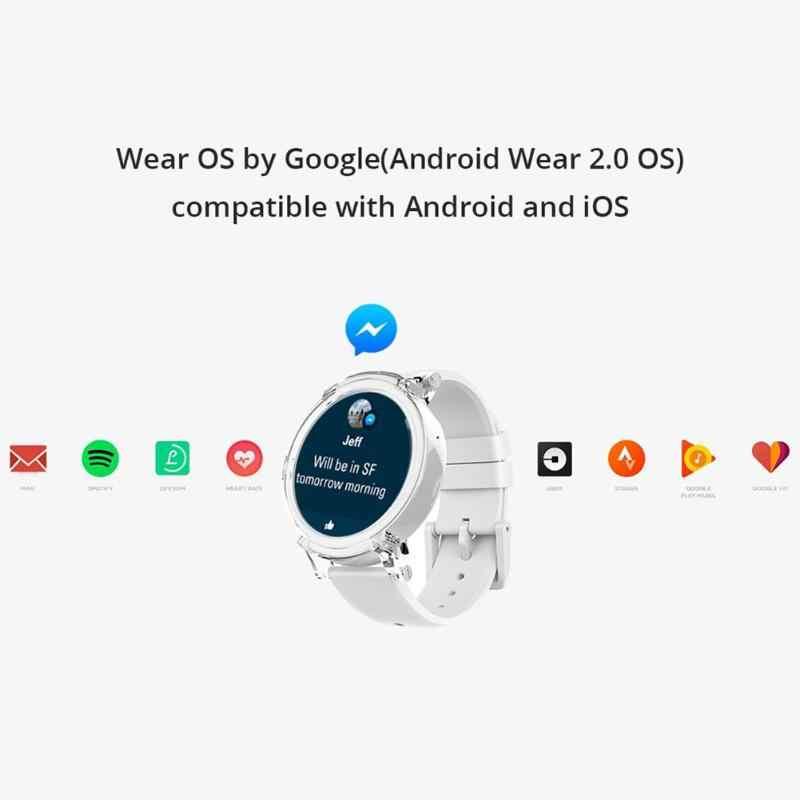 Original Xiaomi Ticwatch E Expres Smart Watch Android Wear OS MT2601 Dual Core Bluetooth 4.1 WiFi Waterproof Multi-function